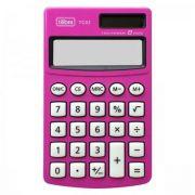 Calculadora de Bolso 8 Dígitos Grande Tc03 Rosa Tilibra