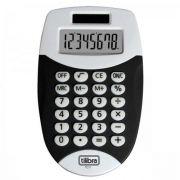 Calculadora de Bolso 8 Dígitos Pequena Tc11 Preta Tilibra
