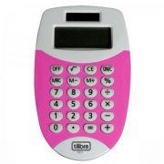 Calculadora de Bolso 8 Dígitos Pequena Tc11 Rosa Tilibra
