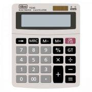 Calculadora de Mesa 12 Dígitos Pequena Tc05 Cinza Tilibra