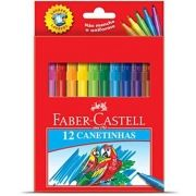 Canetinha Faber Castell - 12 Cores