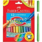 Canetinha Faber Castell Vai e Vem - 12 Cores