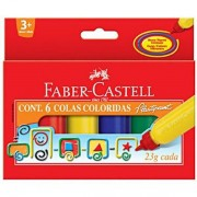 COLA COLORIDA FABER-CASTELL 6 CORES