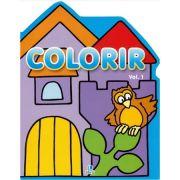 Colorir 1 - Coruja