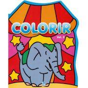 Colorir 2 - Elefante