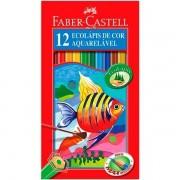 ECOLÁPIS DE COR AQUARELÁVEL FABER-CASTELL 12 CORES