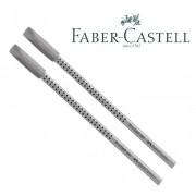 Ecolápis Grip Faber-castell 2 Un + 2 Borrachas Grip Cinza