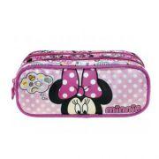 Estojo Xeryus 2 Compartimentos Minnie Magic Bow - 8985