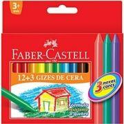 Gizão de Cera Faber-castell 15 Cores