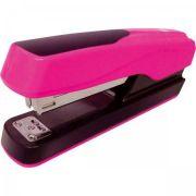 Grampeador Tilibra 20 Folhas de Mesa Neon G122 Rosa
