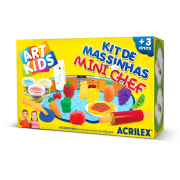 Kit de Massinhas Mini Chef Acrilex ( Unid. )