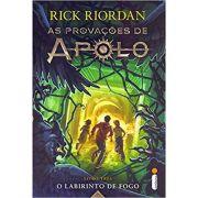 Labirinto de Fogo, O - Livro 3 - Rick Riordan