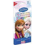 Lápis Cor Tris Frozen Com 12 Cores