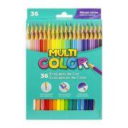 Lápis de Cor Multicolor - 36 Cores