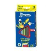 Lápis de Cor Norma 24 Cores