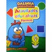 Livro Infantil Atividade Educativa Formas Galinha Pintadinha