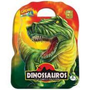 Livro Infantil Maleta/dvd Dinossauros Os Gigantes da Terra