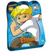 Livro Infantil Maleta/dvd Super Esquadrao