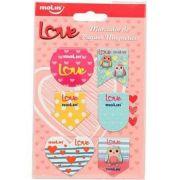 Marcador de Página Magnético Molin Love - 6 Marcadores