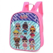 MINI MOCHILA UP4YOU BONECA LOL ROSA