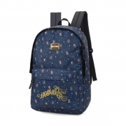 MOCHILA COSTAS LUXCEL HARRY POTTER - AZUL