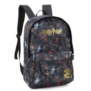 MOCHILA COSTAS LUXCEL HARRY POTTER - PRETO