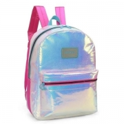 MOCHILA COSTAS LUXCEL UP4YOU G SEREIA ESCAMAS HOLOGRAFICA