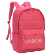 MOCHILA COSTAS LUXCEL UP4YOU PINK