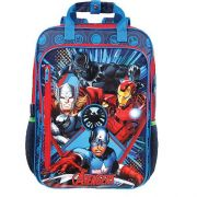 Mochila Dmd G Avengers Max Super 3 Compartimentos