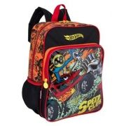 Mochila G Sestini Com Bolso Hot Wheels 17m Plus