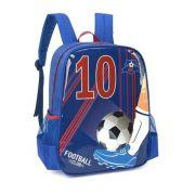 Mochila Luxcel Football 10 - Azul