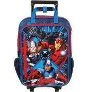 Mochilete Com Rodas G Dmw Avengers 3 Compartimentos