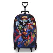 Mochilete Diplomata Maxtoy 3 Rodas Liga da Justiça - Superman