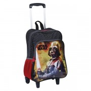 MOCHILETE G COM BOLSO STAR WARS 18M PLUS