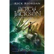 O Ladrão de Raios - Rick Riordan - Capa Nova
