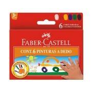 Pintura A Dedo Faber-castell 25ml - 6 Cores