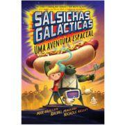 Salsichas Galácticas - Uma Aventura Espacial - Capa Nova