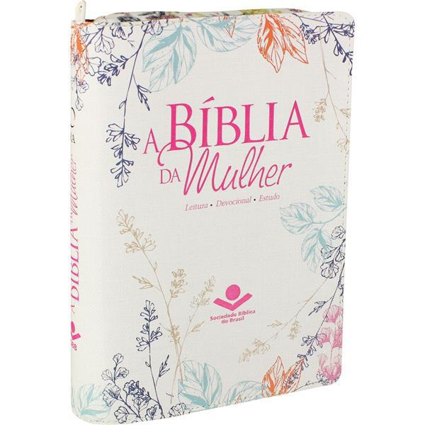 A BÍBLIA DA MULHER - FLORIDA COM ZÍPER - SBB