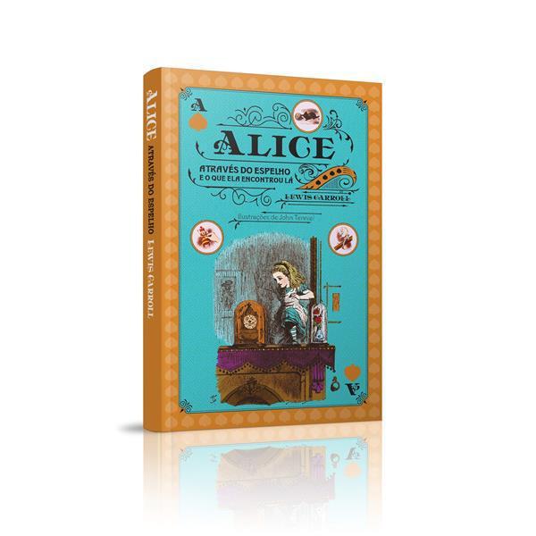 BOX ALICE NO PAÍS DAS MARAVILHAS, ALICE ATRAVEZ DO ESPELHO + ALICE PARA COLORIR - LEWIS CARROLL