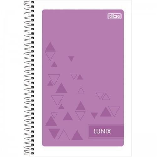 Caderneta Espiral 1/8 Lunix 48 Folhas
