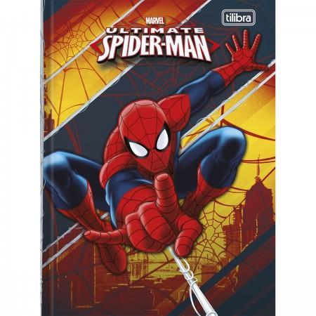 Caderno Brochura Pequeno Top Spider Man 48 Folhas
