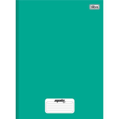 Caderno Brochura Capa Dura Pequeno Mais+ Verde 48 Folhas