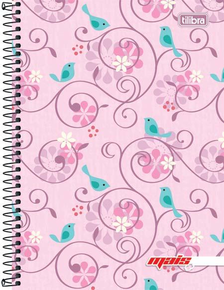 Caderno Capa Dura Espiral Pequeno Mais+ 200 Folhas - Capas Sortidas