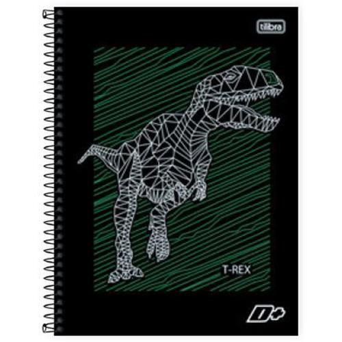 Caderno Capa Dura Universitário Mais+ 10 Matérias - 200 Folhas- Capas Sortidas