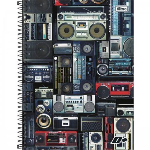 Caderno Capa Dura Universitário Mais+ 12 Matérias 240 Fls - Capas Sortidas