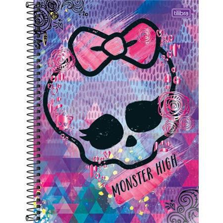 Caderno Capa Dura Universitário Monster High 1 Matéria 96 Fls - Capas Sortidas
