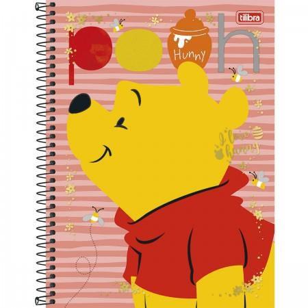 Caderno Capa Dura Universitário Pooh 12 Matérias 240 Fls -  Capas Sortidas