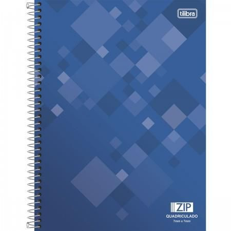 Caderno Capa Dura Universitário Quadriculado 0.7x0.7mm Zip 96 Fls
