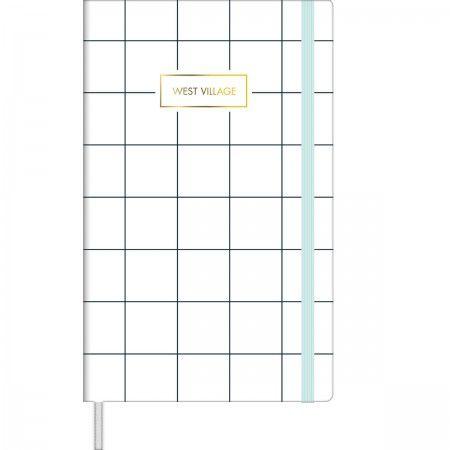 Caderno Costurado Grande Bullet Journal Pontilhado West Village - 80 Folhas - Capas Sortidas