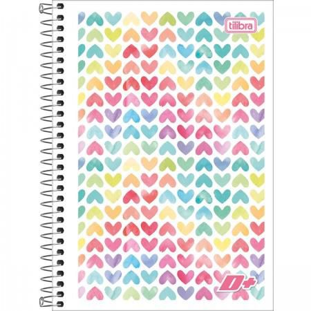 Caderno Espiral Pequeno Mais+ 48 Folhas